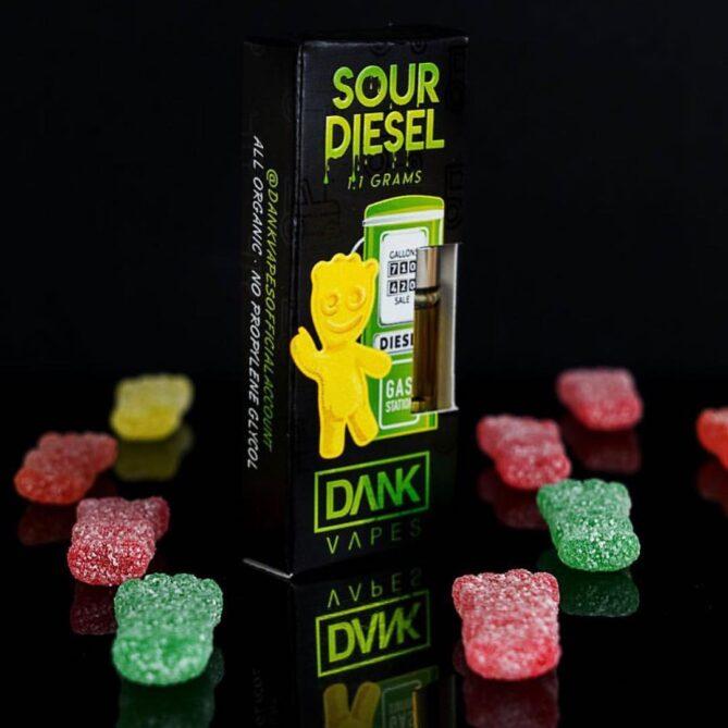 Dank Vapes Sour diesel